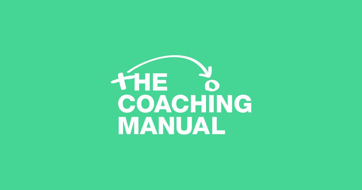 Image result for the coaching manual logo